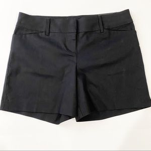 The Limited Black Tailored Short Size 8